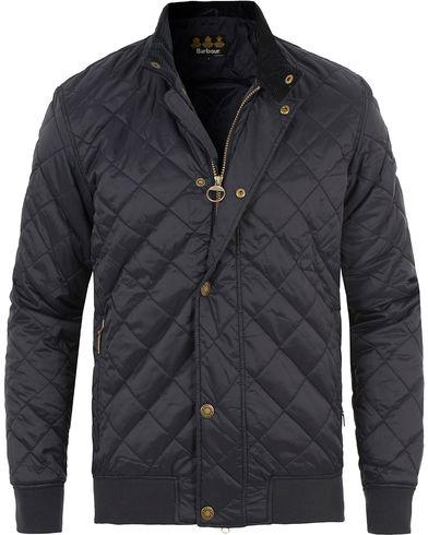 Barbour Lifestyle Moss Quilt Jacket Navy i gruppen Kläder / Jackor / Quiltade jackor hos Care of Carl (13702711r)