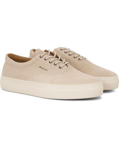 Gant Aero Suede Sneaker Beige i gruppen Skor / Sneakers / Låga sneakers hos Care of Carl (13709411r)