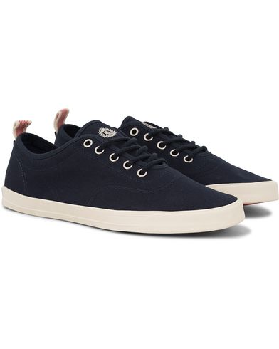 Henri Lloyd Bolton Lace Canvas Sneaker Navy i gruppen Sko / Sneakers / Sneakers med lavt skaft hos Care of Carl (13714211r)