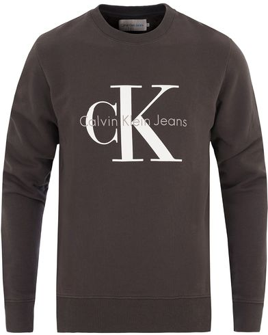 Calvin Klein Jeans True Icon Crew Neck Sweat Black i gruppen Tröjor / Sweatshirts hos Care of Carl (13721511r)