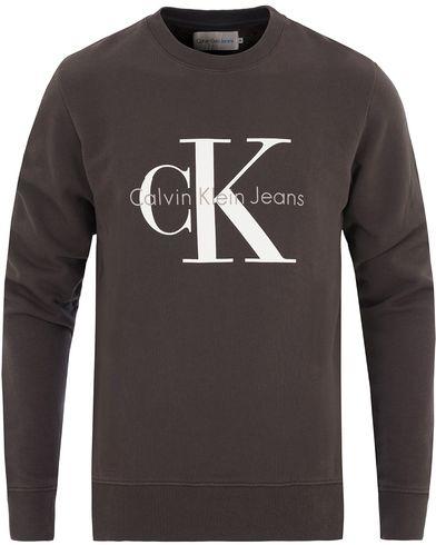 Calvin Klein Jeans True Icon Crew Neck Sweat Black i gruppen Kläder / Tröjor / Sweatshirts hos Care of Carl (13721511r)