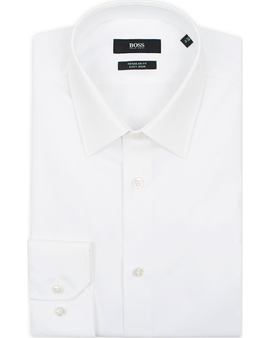 BOSS Enzo Regular Fit Shirt White i gruppen Tøj / Skjorter / Formelle / Formelle skjorter hos Care of Carl (13737011r)