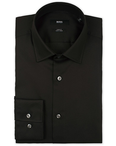 Boss Jenno Slim Fit Shirt Black i gruppen Kläder / Skjortor / Formella skjortor hos Care of Carl (13737211r)