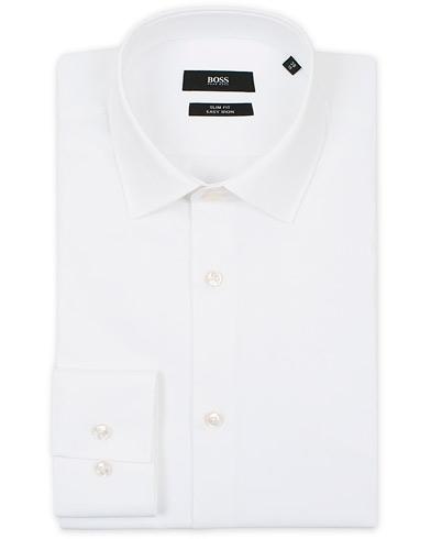 BOSS Jenno Slim Fit Shirt White i gruppen Tøj / Skjorter / Formelle / Formelle skjorter hos Care of Carl (13737311r)