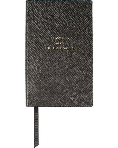 Smythson Panama Notebook Black