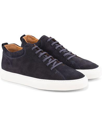 C.QP Tarmac Sneaker Prussian Blue i gruppen Sko / Sneakers / Sneakers med højt skaft hos Care of Carl (13767711r)