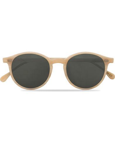 TBD Eyewear Cran Sunglasses Brushed Ivory  i gruppen Assesoarer / Solbriller / Runde solbriller hos Care of Carl (13773610)