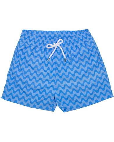 Frescobol Carioca Short Sport Swim Trunk Copacabana Blue Tonal i gruppen Klær / Badeshorts hos Care of Carl (13778511r)