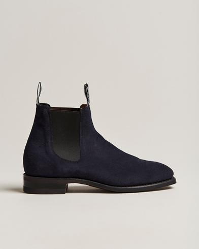 R.M.Williams Blaxland G Boot Universe Navy Suede i gruppen Sko / Støvler / Chelsea boots hos Care of Carl (13779811r)