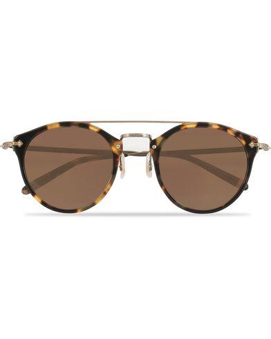 Oliver Peoples Remick Sunglasses Vintage/Brown  i gruppen Assesoarer / Solbriller / Runde solbriller hos Care of Carl (13787510)