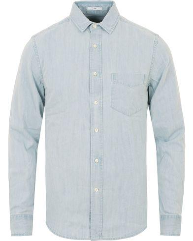 GANT Rugger Indigo Denim Shirt Light Blue i gruppen Kläder / Skjortor / Jeansskjortor hos Care of Carl (13816411r)