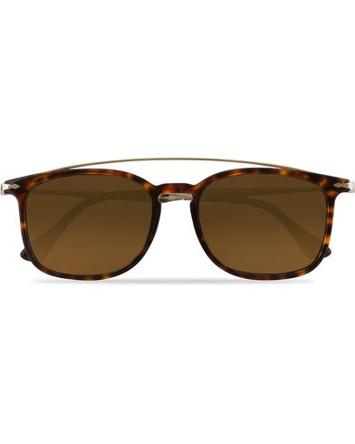 Persol 0PO3173S Polarized Sunglasses Havana  i gruppen Assesoarer / Solbriller / Firkantede solbriller hos Care of Carl (13828710)