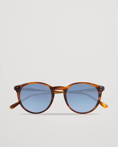 Polo Ralph Lauren 0PH4110 Sunglasses Stripped Havana  i gruppen Accessoarer / Solglasögon / Runda solglasögon hos Care of Carl (13829410)