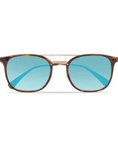 Ray-Ban 0RB4286 Sunglasses Shiny Red Havana  i gruppen Assesoarer / Solbriller / Runde solbriller hos Care of Carl (13830010)