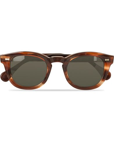 TBD Eyewear Donegal Sunglasses Champagne Havana  i gruppen Accessoarer / Solglasögon / Runda solglasögon hos Care of Carl (13830610)