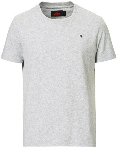 Morris James Crew Neck Tee Grey Melange i gruppen Kläder / T-Shirts / Kortärmade t-shirts hos Care of Carl (13831711r)