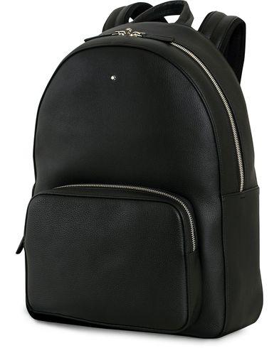 Montblanc Meisterstück Soft Grain Backpack Black  i gruppen Accessoarer / Väskor / Ryggsäckar hos Care of Carl (14007710)