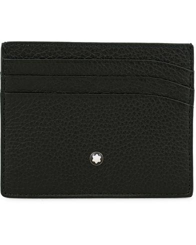 Montblanc Pocket 6 Credit Card Holder Grained Leather Black  i gruppen Tilbehør / Punge / Kortholdere hos Care of Carl (14008210)