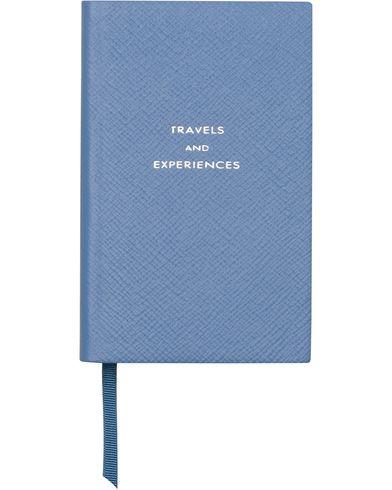Smythson Panama Notebook Nile Blue