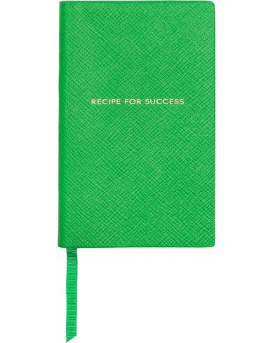 Smythson Panama Notebook Emerald