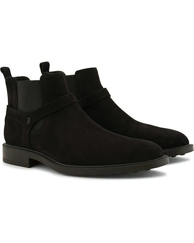 Tod's Tronchetto Jodhpur Chelsea Boot Black i gruppen Skor hos Care of Carl (14052411r)
