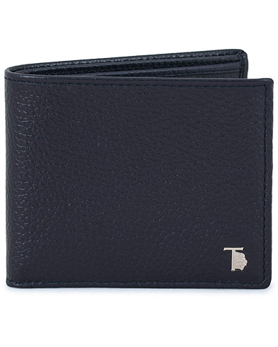 Tod's Grained Leather Wallet Navy  i gruppen Accessoarer / Plånböcker / Vanliga plånböcker hos Care of Carl (14054310)