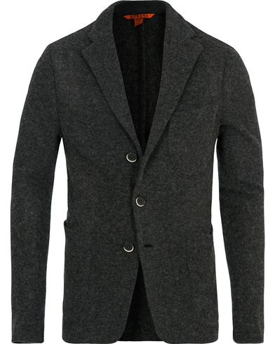 Barena Torceo Wool Patch Pocket Blazer Antracite i gruppen Kläder / Tröjor / Cardigans hos Care of Carl (14074611r)