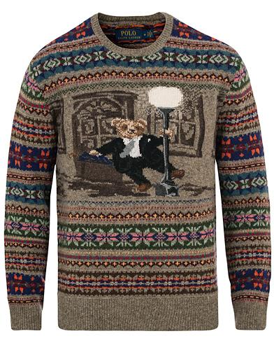 Polo Ralph Lauren Bear Crew Neck Multi i gruppen Kläder / Tröjor / Stickade tröjor hos Care of Carl (14118911r)