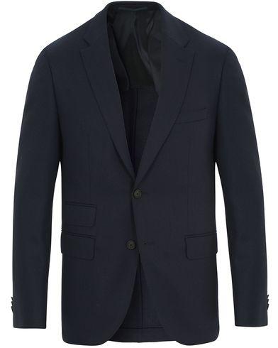 Boss Jet Wool Traveler Blazer Navy i gruppen Klær / Dressjakker / Enkeltspente dressjakker hos Care of Carl (14158511r)