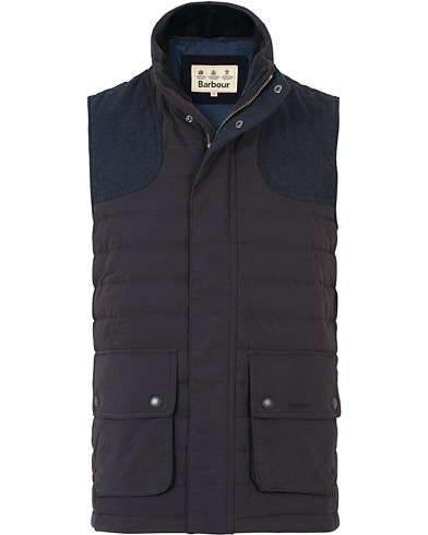 Barbour Lifestyle Bradford Gilet Navy i gruppen Klær / Vester hos Care of Carl (14178111r)