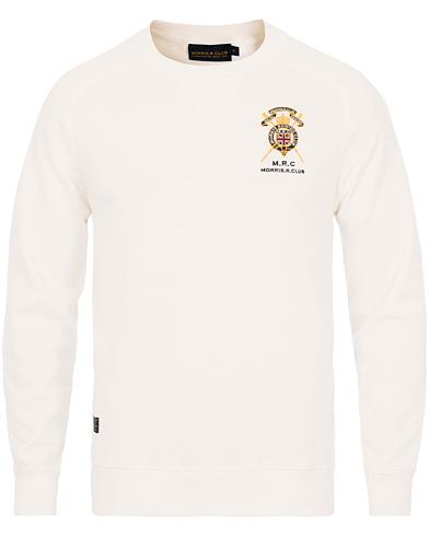 Morris St John Sweatshirt Off White i gruppen Kläder / Tröjor hos Care of Carl (14191511r)