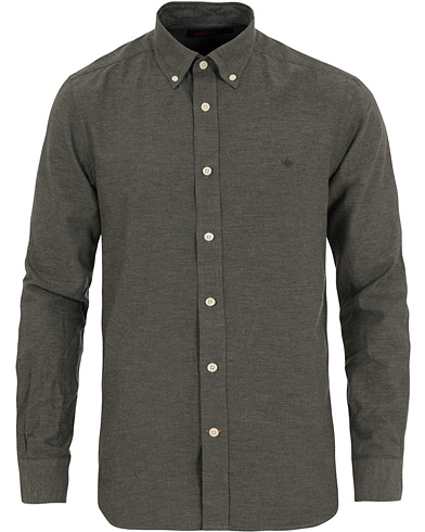 Morris Douglas Twill Shirt Dark Grey i gruppen Kläder / Skjortor / Casual skjortor hos Care of Carl (14193311r)