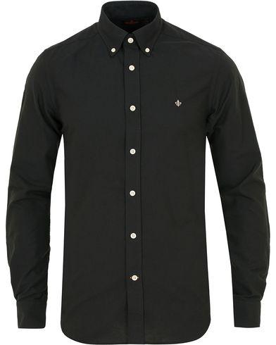 Morris Douglas Oxford Shirt Black i gruppen Klær / Skjorter / Oxfordskjorter hos Care of Carl (14193811r)