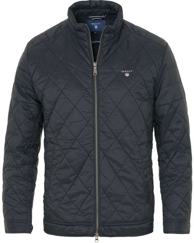 Gant The Quilted Windcheater Navy i gruppen Klær / Jakker / Quiltede jakker hos Care of Carl (14230811r)