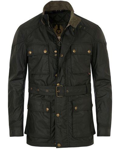 Belstaff Streetmaster Wax Jacket Black i gruppen Tøj / Jakker / Oilskinsjakker hos Care of Carl (14259011r)