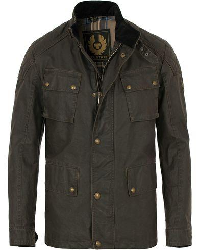 Belstaff Woodbridge Wax Jacket Black i gruppen Tøj / Jakker / Oilskinsjakker hos Care of Carl (14259111r)