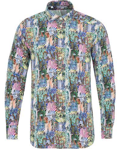Eton The Hacienda Collection Slim Printed Shirt Multi i gruppen Tøj / Skjorter / Casual skjorter hos Care of Carl (14270511r)