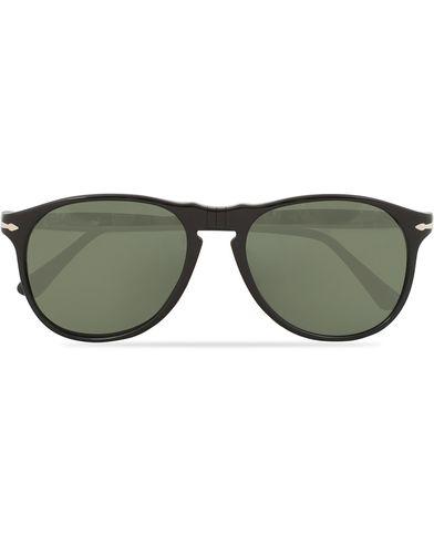 Persol 100th Anniversary 0PO6649S Sunglasses Black  i gruppen Assesoarer / Solbriller / Buede solbriller hos Care of Carl (14303010)