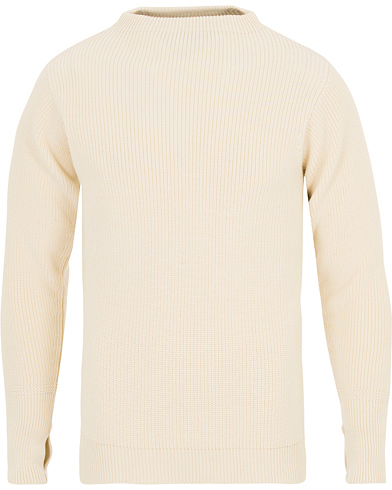 Andersen-Andersen Sailor Crewneck Off White i gruppen Klær / Gensere / Strikkede gensere hos Care of Carl (14303711r)