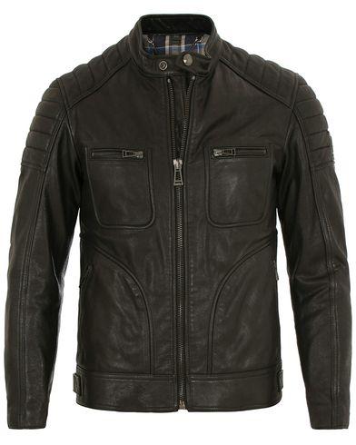 Belstaff Weybridge 2017 Leather Jacket Black i gruppen Tøj / Jakker / Læderjakker hos Care of Carl (14304111r)
