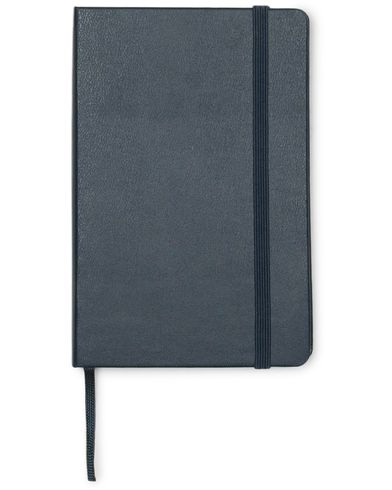 Moleskine Ruled Hard Notebook Pocket Sapphire Blue  i gruppen Tilbehør / Penne & notesbøger hos Care of Carl (14323610)