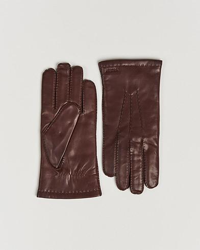 Hestra Edward Wool Liner Glove Chestnut i gruppen Assesoarer / Hansker hos Care of Carl (14328611r)