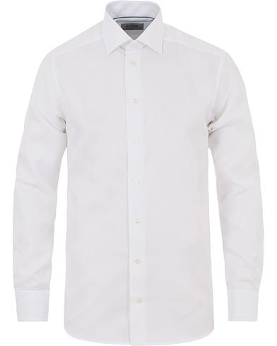 Eton Contemporary Fit Royal Oxford Shirt White i gruppen Tøj / Skjorter / Formelle skjorter hos Care of Carl (14331811r)