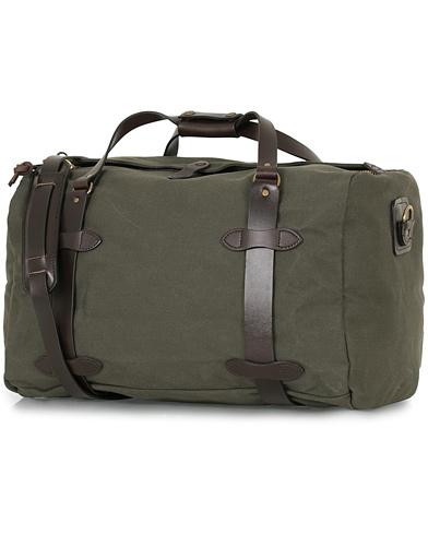 Filson Duffle Medium Otter Green Canvas  i gruppen Accessoarer / Väskor / Weekendbags hos Care of Carl (14340210)