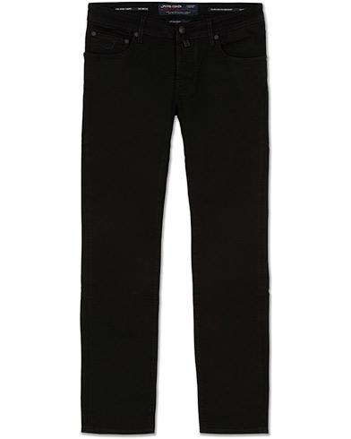 Jacob Cohën 622 Slim Jeans Black i gruppen Klær / Jeans / Smale jeans hos Care of Carl (14342011r)