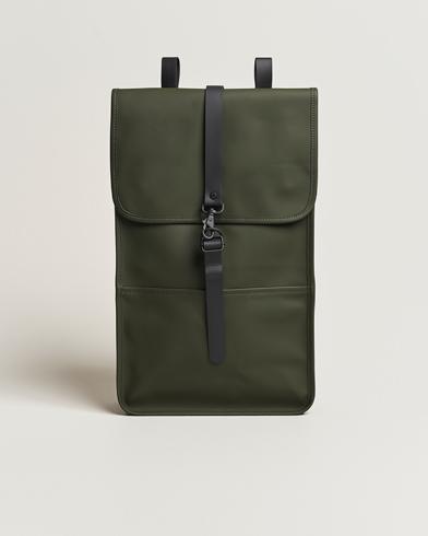 Rains Backpack Green  i gruppen Tilbehør / Tasker / Rygsække hos Care of Carl (14347910)