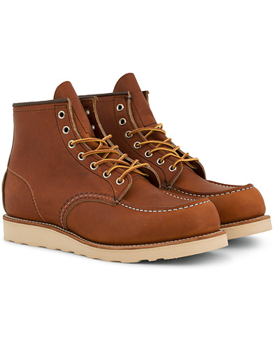 Red Wing Shoes Moc Toe Boot Oro Legacy Leather i gruppen Sko / Støvler / Snørestøvler hos Care of Carl (14359711r)
