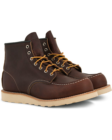 Red Wing Shoes Moc Toe Boot Briar Oil Slick Leather i gruppen Sko / Støvler / Snørestøvler hos Care of Carl (14359811r)