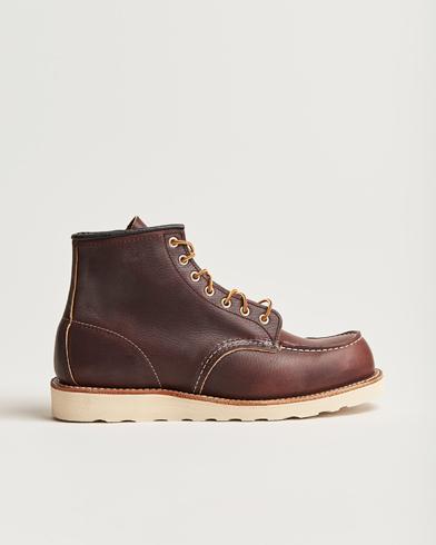 Red Wing Shoes Moc Toe Boot Briar Oil Slick Leather i gruppen Skor / Kängor / Snörkängor hos Care of Carl (14359811r)