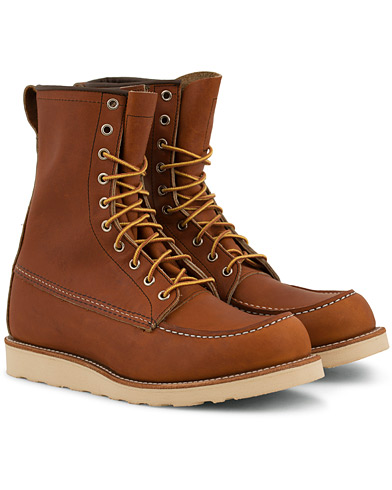 Red Wing Shoes Moc Toe High Boot Oro Legacy Leather i gruppen Sko / Støvler / Snørestøvler hos Care of Carl (14359911r)